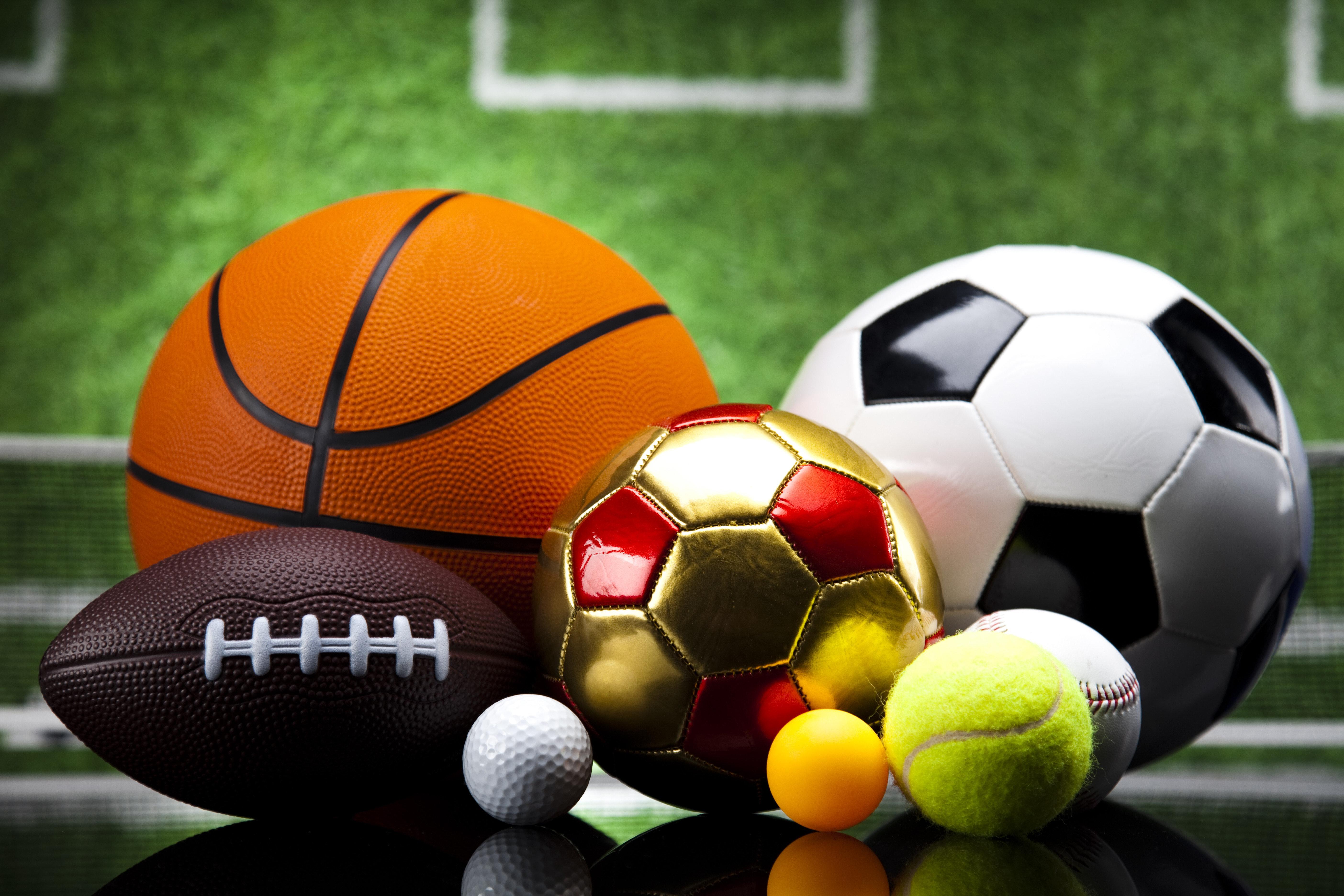 спортивные игры с мячом с картинками