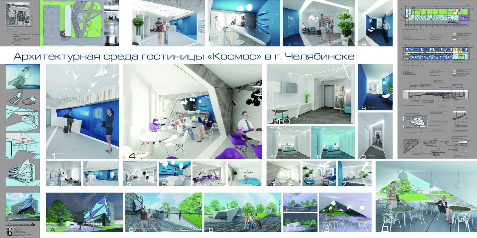Дизайн архитектурной среды промышленных зданий