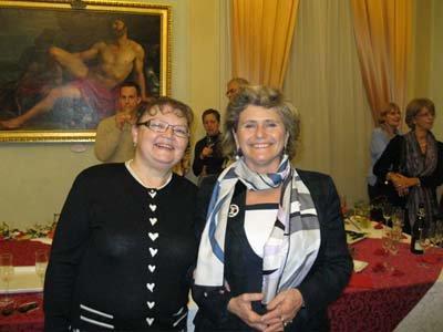 Т.Н. Хомутова и М. Бонди на приеме у мэра Модены