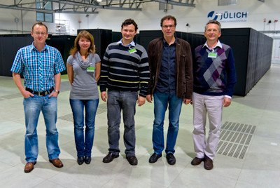 Посещение Суперкомпьютерного центра в Юлихе