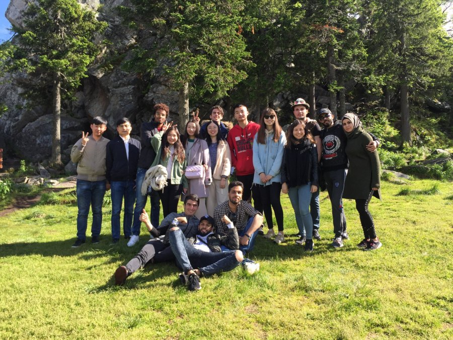Иностранные студенты ЮУрГУ посетили «Таганай»
