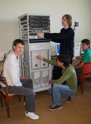 Лаборатория сетевых технологий, ауд. 808/3б